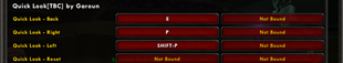 wow addon Quick Look