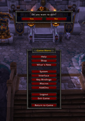 wow addon Quit Confirmed
