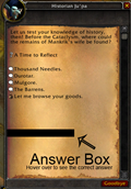 wow addon QuizHelper