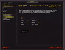 Raid Attendance Tracker Classic – (RAT)