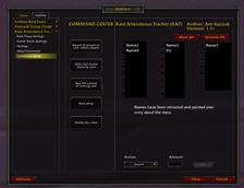 Raid Attendance Tracker – (RAT)