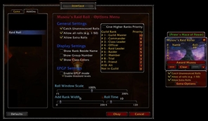 Raid Roll (With EPGP support, roll tracker and loot tracker)