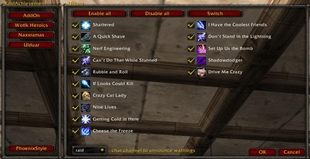 wow addon RaidAchievement