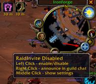 RaidInvite Classic