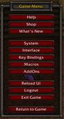 wow addon ReloadUI Button
