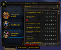 wow addon Remember Declined