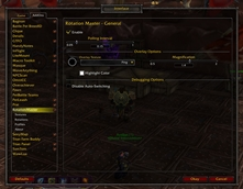 wow addon Rotation Master