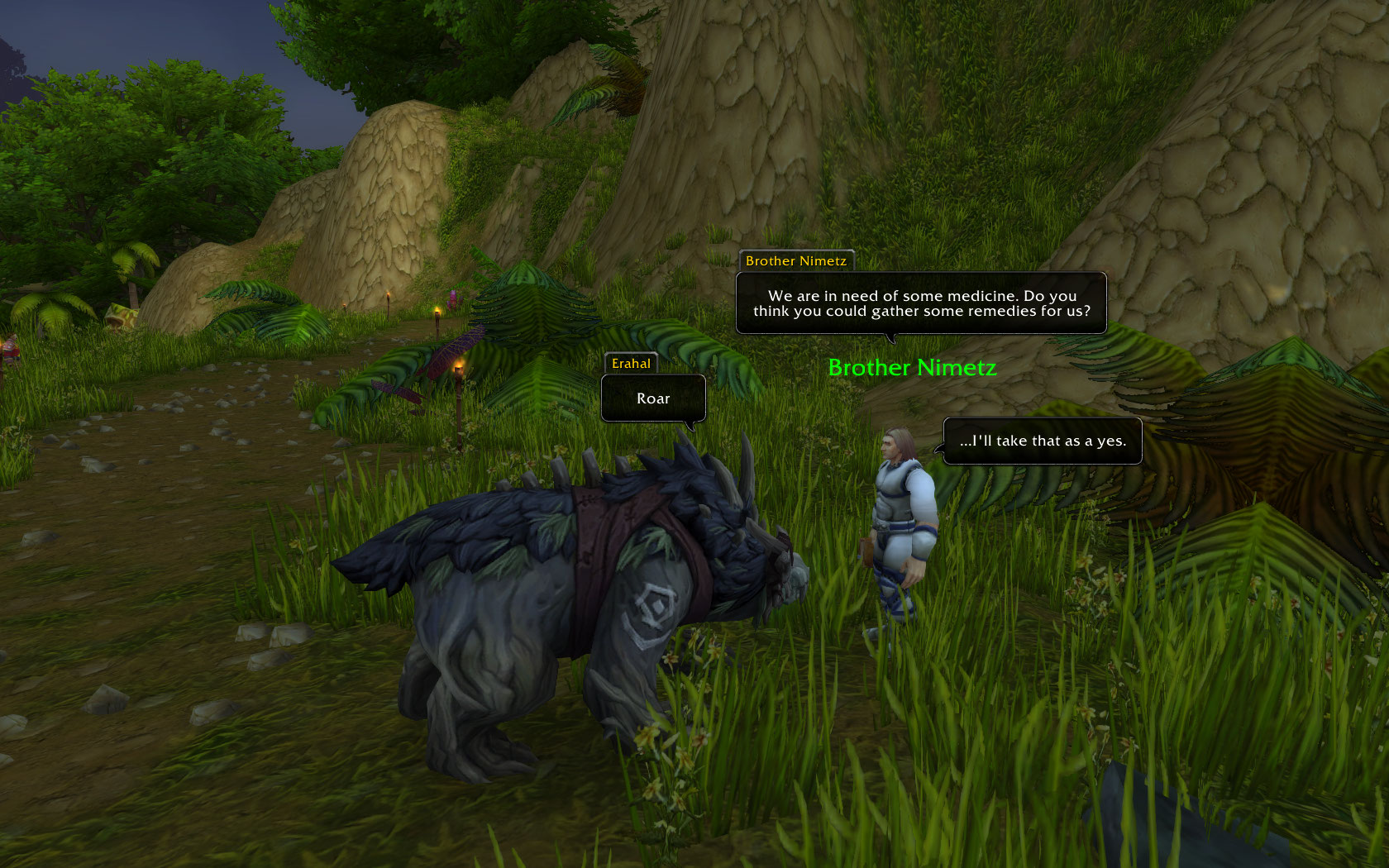 WoW RP Chat Bubbles addon Shadowlands/classic 2020