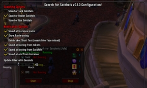 wow addon Search for Satchels