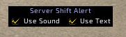 Server Shift Alert