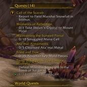Show Quest Count