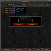 Sigma AddOn Manager (Classic)
