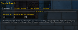 wow addon Simple Dice 2
