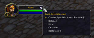 wow addon Simple Loot Spec