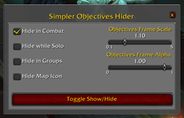 Simple Objectives Hider