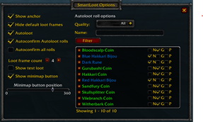 wow addon SmartLoot for Classic