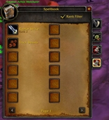 SpellBook Abridged for WoW Classic