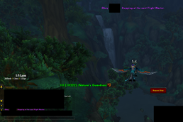 wow addon Stop Request Button
