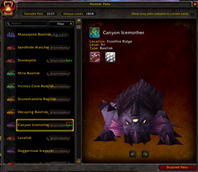 wow addon The Hunter\'s Menagerie