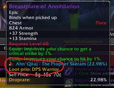ThunderHorn Flock Loot Priority