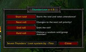 wow addon ThunderLoot