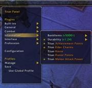 Titan Panel [Achievement Points]