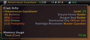 wow addon Titan Panel [Clan]