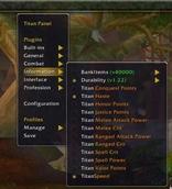 Titan Panel [Honor Points]