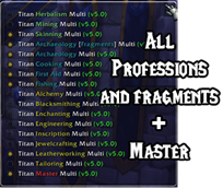 Titan Panel [Professions] Multi