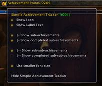 Titan Panel [Simple Achievement Tracker]