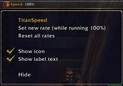 wow addon Titan [Speed] Cont.