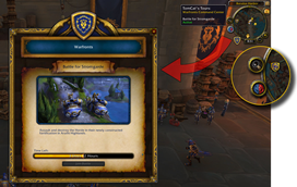 wow addon TomCat\'s Tours: Warfronts Command Center