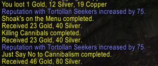 Tortollan Quest Chain Completion