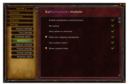 Total RP 3: KuiNameplates module