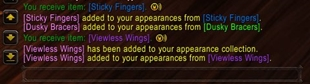 wow addon Transmog Notification