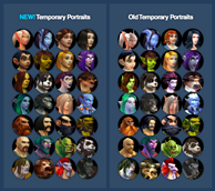Updated Temporary Portraits
