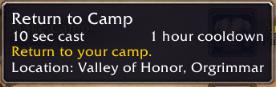 wow addon Where's My Camp?