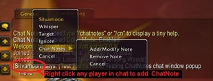 Who TF R U (formally Chat Notes)