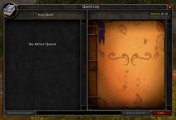 Wide Quest Log