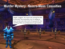 WMM: Naxxra-Mass Casualties