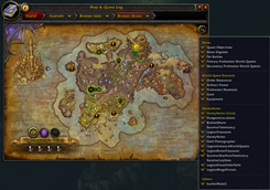 wow addon World Map Tracking Enhanced