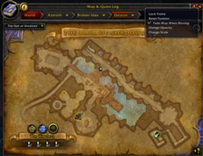 wow addon World Map Tunable