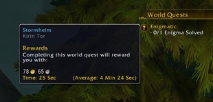 World Quest Tips & Timers
