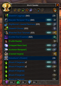 wow addon World Quester