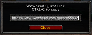 Wowhead Quick Link