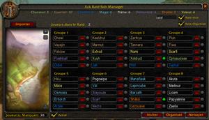 Xck Raid Sub Manager