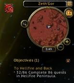 Zone Achievement Tracker