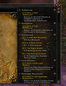 wow addon Zone Quest Abandon