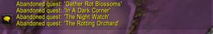 Zone Quest Abandon