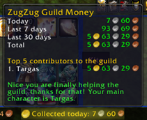 Zug Zug Guild Money